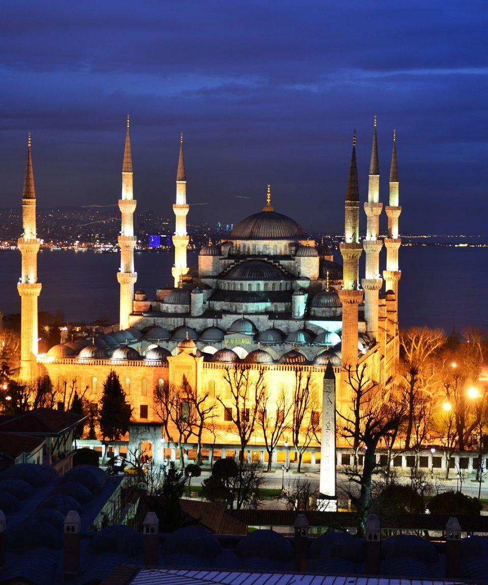 blue mosque 908510 1920
