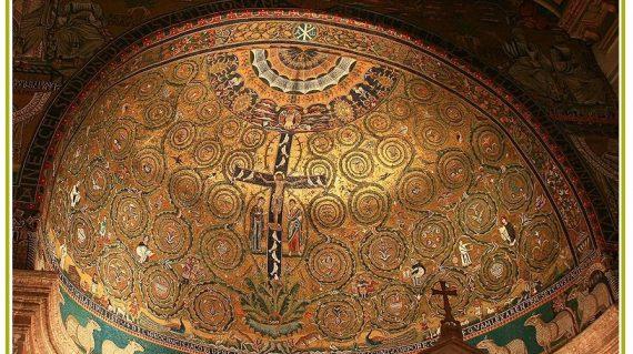 Roma Abside Basilica di San ClementeGrande