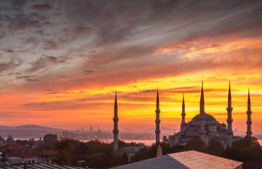 TurchiaGrandehagia sophia istanbul turkey sunset