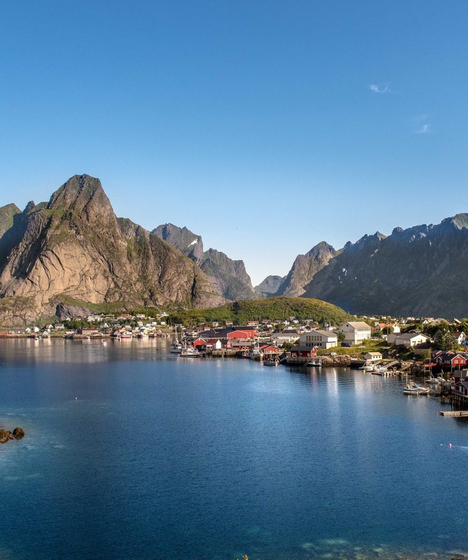 Norvegia Lofoten pixa